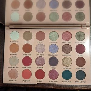 The Wants eyeshadow palette